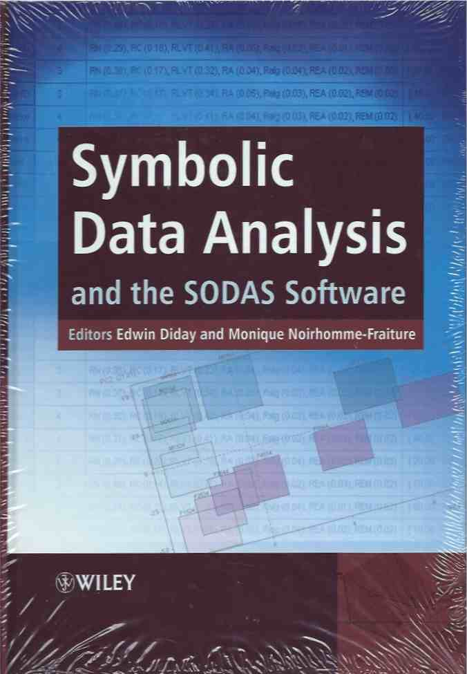 Symbolic Data Analysis And The Sodas Software Edwin Diday Monique