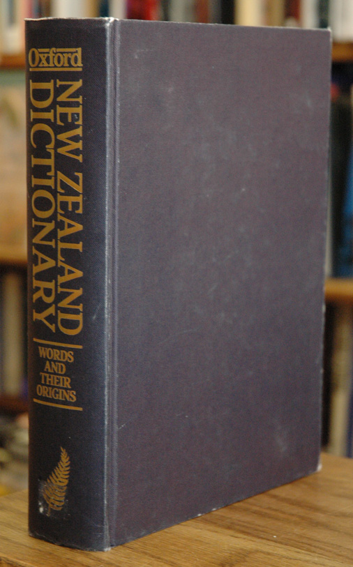 The Dictionary of New Zealand English__A Dictionary of New Zealandisms on Historical Principles. H. W. Orsman.