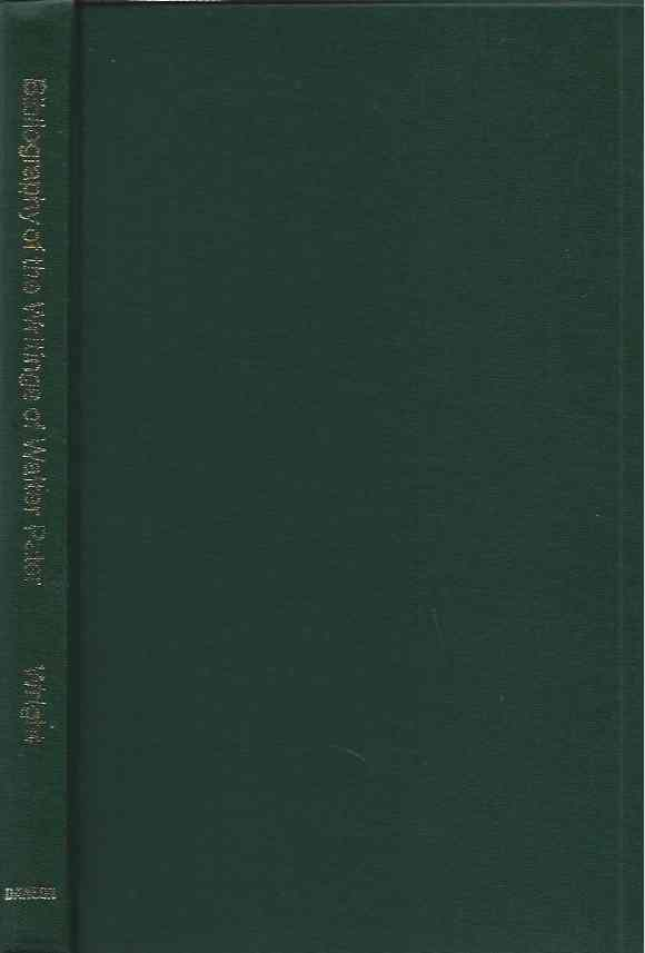 A Bibliography of the Writings of Walter H. Pater. Samuel Wright.