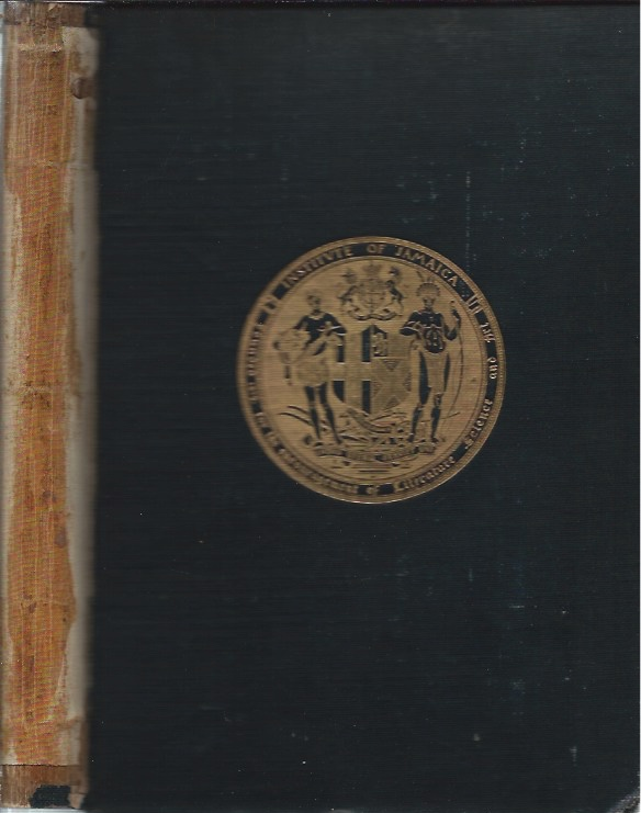 Catalogue of the Books on the Library of the Institute of Jamaica. anon.