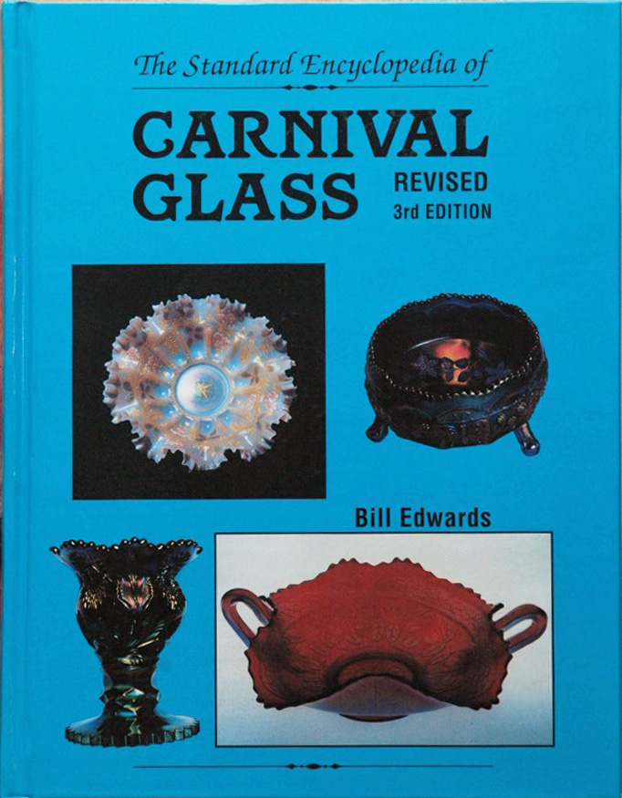 The Standard Encyclopedia of Carnival Glass Revised 3rd edition. Bill Edwards.