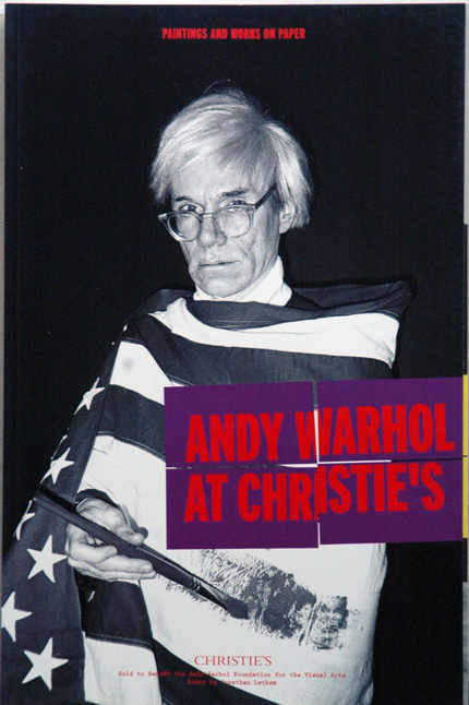 Andy Warhol at Christie's, 3 Volumes__Photographs, Paintings and Works on Paper, Prints. na.