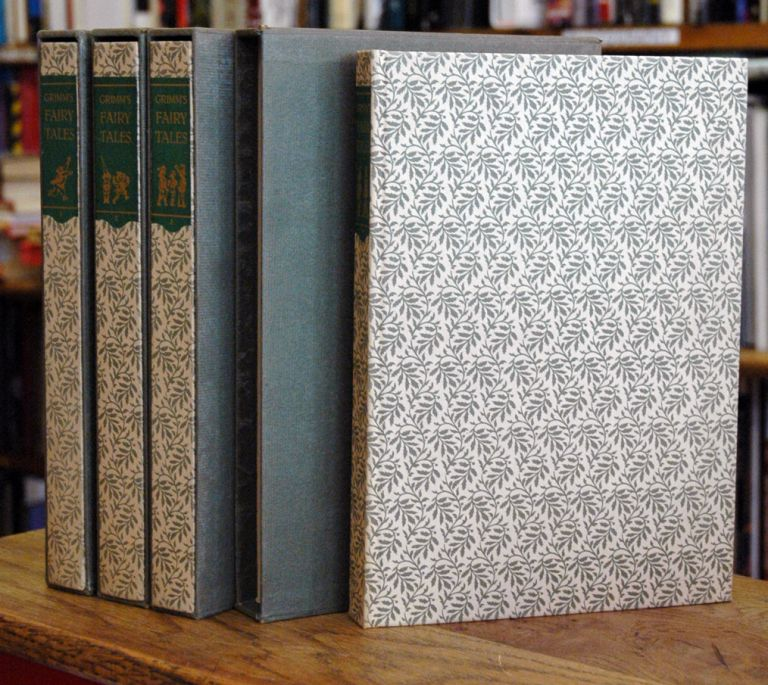 Grimm's Fairy Tales__The Complete Household Tales in Four Volumes. Jakob Grimm, Wilhelm, Louis and Bryna Untermeyer.