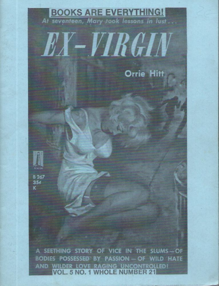 """Books Are Everything! (Vol. 5 No. 1 Whole Number 21)__""""Ex-Virgin"""", Orrie Hit. R. C. Holland, Elwanda."""