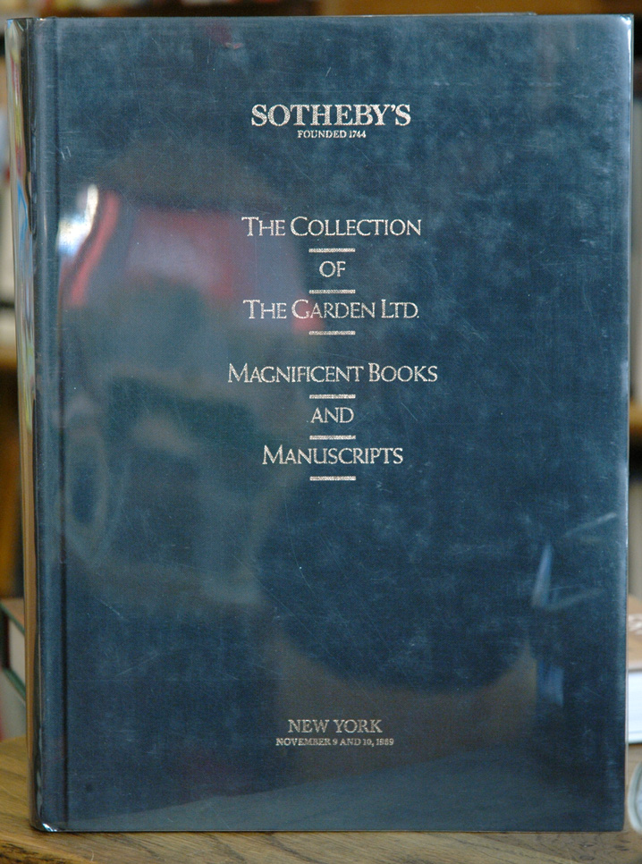 The Collection of The Garden Ltd. Magnificent Books and Manuscripts. Haven O'More.