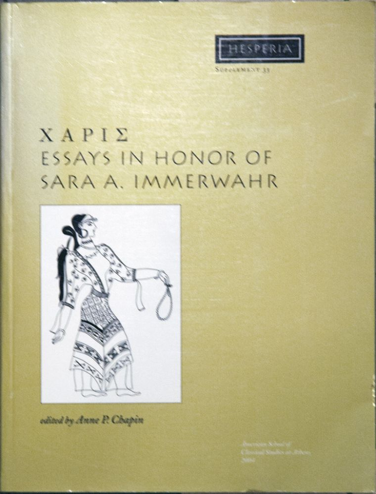 XAPIE_Essays in Honor of Arar A. Immerwahr. Anne P. Chapin.