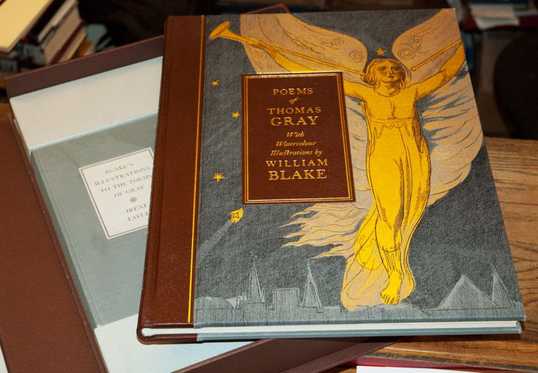 Poems of Thomas Gray_Blake's Illustrations to the Poems of Gray (2 Volumes). Thomas Gray, William Blake, Irene Tayler.