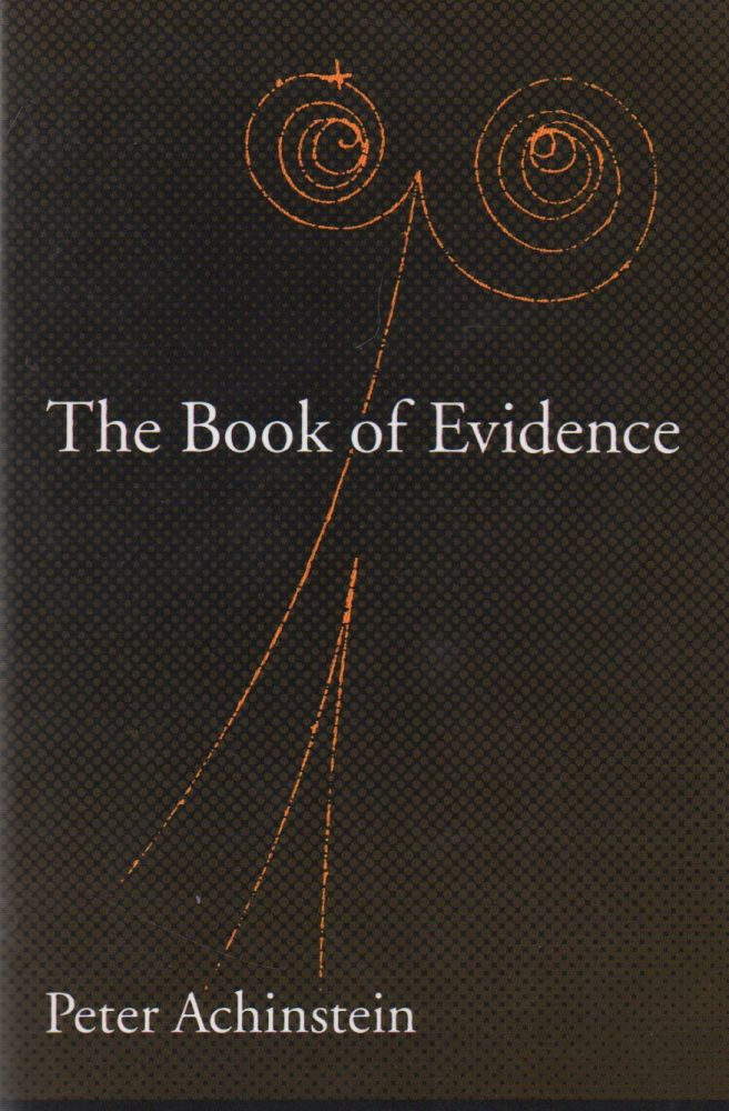 The Book of Evidence. Peter Achinstein.