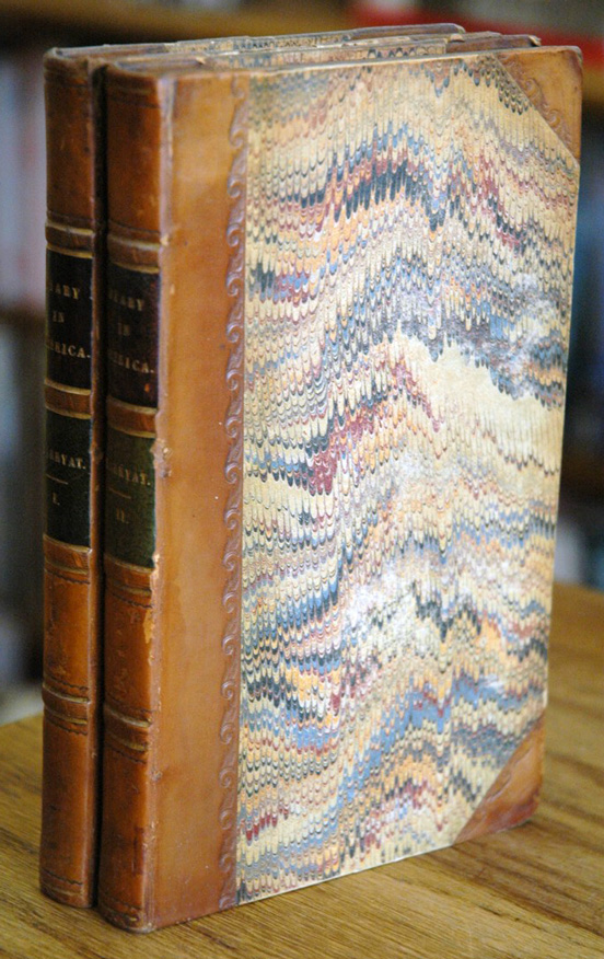 Diary in America__with remarks on its institutions__2 volumes. Capt. C. B. Marryat.