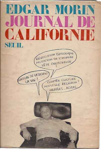 Journal de Californie. Edgar Morin.