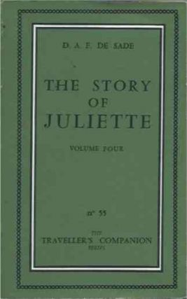 Story of Juliette volume four. D. A. F. De Sade