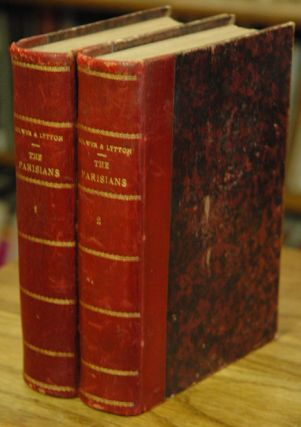 The Parisians__2 volumes. Edward Bulwer, Lord Lytton