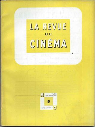 La Revue du Cinema 15 of the first 18 issues. Jean George ed Auriol