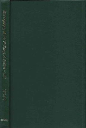 A Bibliography of the Writings of Walter H. Pater. Samuel Wright