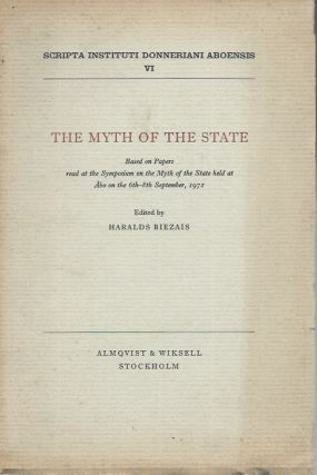 The Myth of the State, Based on Papers read at the Symposium on the Myth of the State held at Abo...