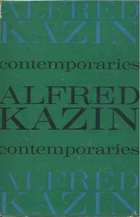 Contemporariies. Alfred Kazin
