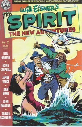 The Spirit__ The New Adventures__ No. 2. WIll Eisner