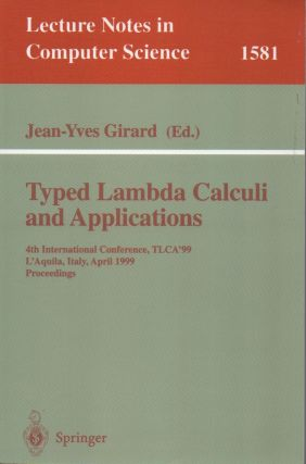 Typed Lambda Calculi and Applications. Jean-Yves ed Girard