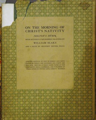 On the Morning of Christ's Nativity__Milton's Hymn with hitherto unpublished drawings by William...