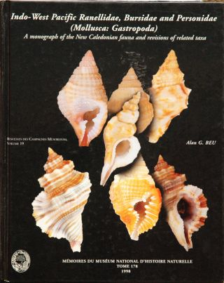 Indo-West Pacidic Ranellidae, Bursidae and Personidae (Mollusca: Gastropoda)__A Monongraph of the...