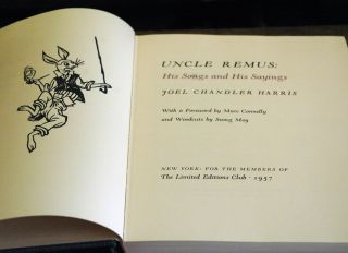 Uncle Remus: His Songs and His Sayings