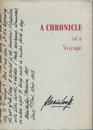 A Chronicle of a Voyage. Austryn Wainhouse