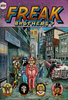 The Fabulous Furry Freak Brothers, Number Four. Gilbert Shelton, Dave Sheridan