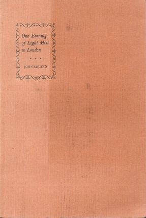 One Evening of Light Mist in London_The Story of Annie Playden and Guillaume Apollinaire. John...