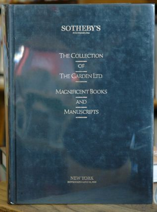 The Collection of The Garden Ltd. Magnificent Books and Manuscripts. Haven O'More
