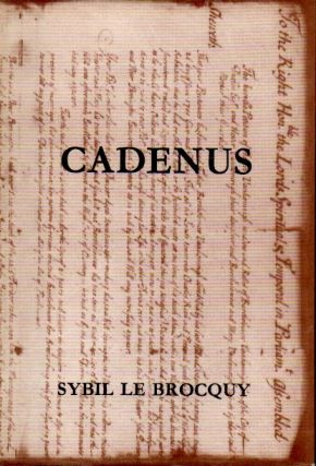 Cadenus _ A Reassesment in the Light of New Evidence of the Relationships Between Swift, Stella,...