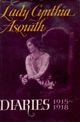 Diaries 1915-1918. Lady Cynthia Asquith