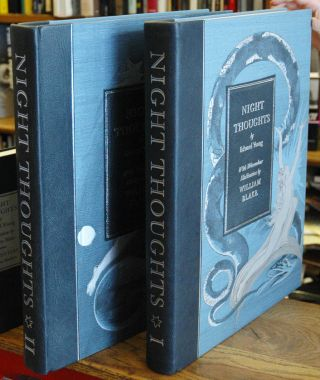 The Complaint, or Night Thoughts on Life, Death & Immortality _ 3 volumes. Edward Young, William...