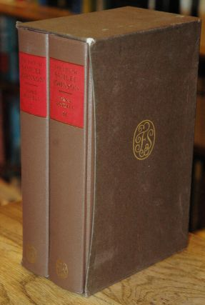 The Life of Samuel Johnson__2 volumes. James Boswell