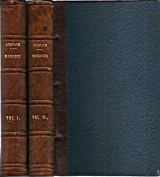 Memoirs of the Margravine of Anspach__Two Volumes