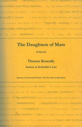 The Daughters of Mars. Thomas Keneally