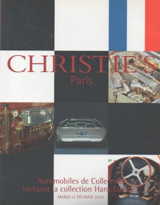 Automobiles de Collection incluant la collection Hans Luscher. Christie's