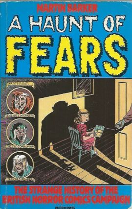A Haunt of Fears _ The Strange History of the British Horror Comics campaign