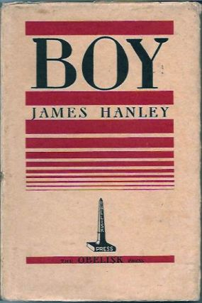 Boy__(Banned in England May 1935). James Hanley